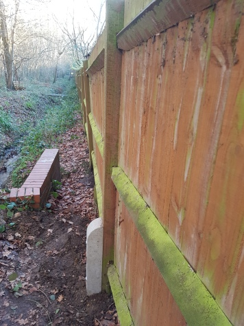 A new Fencing Spur installed